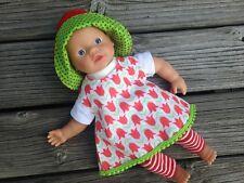 Kleidung Kleid für Puppen Gr. 32 little Baby Born Aquini Corolle Muffin Annabell
