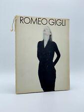 Paolo ROVERSI / Romeo Gigli Autunno Inverno 1988-1989 First Edition