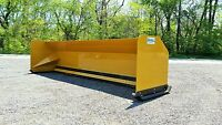 12' Snow pusher boxes FREE SHIPPING- RTR backhoe loader snow plow Express Steel