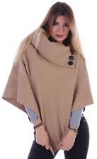 Damen-Pullover & -Strickware aus Wolle ohne Muster in Übergröße
