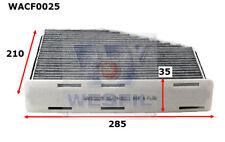 WESFIL CABIN FILTER FOR Audi TT 3.2L V6 2006 11/06-05/10 WACF0025
