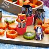 8pcs/Set Flower Star  Shape Vegetable Fruit Cutter  Mold Slicer Stainless Steel