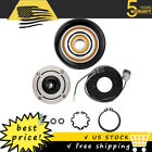 AC A/C COMPRESSOR CLUTCH KIT PULLEY COIL FOR 2003 - 2007 HONDA ACCORD 4CYL 2.4