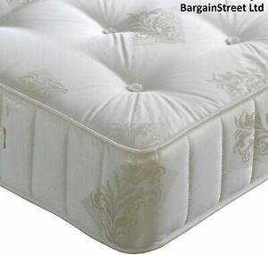 LUXURY ORTHOPAEDIC MATTRESS MEDIUM FIRM  3FT, 4FT 4FT6 DOUBLE & 5FT KING SIZE