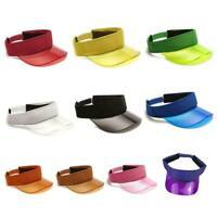 Adjustable Tennis Running Sports Summer Shade Cap Sun Visor Headband Unisex U8E1