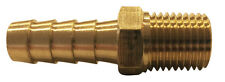 Brass Hose Barb x Male Pipe Thread NPT,  MIP Fitting Fuel Water