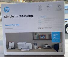 HP DeskJet Plus 4152 Wireless All-in-One Color Inkjet Printer - Instant Ink Read