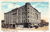 Postcard Westcott Hotel in Richmond, Indiana~129059