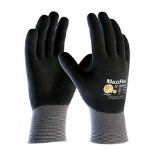 PIP 34-876 ATG MaxiFlex Ulitimate Fully Nitrile Coated Nylon Gloves 3 pair LG