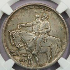 1925 Stone Mountain Classic Commemorative half Dollar NGC AU58