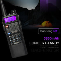 Baofeng UV-5R Walkie Talkies 2-way Radio Dual Band VHF/UHF Long Range 3800mAh