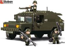 Sluban Military Army Bricks Armoured SUV B9900 Building Toy Tank Blocks Bricks