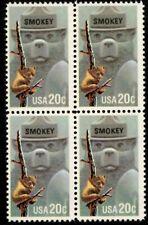 Smokey Bear - Scott #2096 Block of 4 Stamps MNH