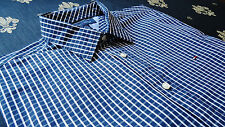 Tommy Hilfiger size L Custom Fit Men's Casual Shirts Striped Black&White NEW