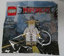 LEGO 5004915 The Ninjago Movie Master Wu Key Chain Polybag *BRAND NEW Fast SHIP