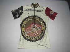 Single Track Mind Men's Mountain Grown 1/2 Zip Cycling Jersey Size S