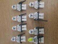 LEGO Star Wars Clone Troopers X8 (Genuine)