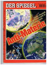 Spiegel - Ausg. Nr. 3 / 15.1.96 - Anti - Materie - 1. Vorstoß der Wissenschaft -