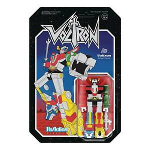 """SUPER7 VOLTRON METALLIC VERSION 3 3/4"""" REACTION FIGURE UNPUNCHED IN STOCK USA"""