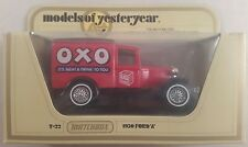 """matchbox models of yesteryear y22 ford A """"oxo"""" boxed"""