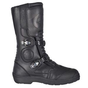Oxford Explorer Leather Waterproof Racer Motorbike Motocross Boots Buckle Black