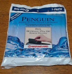 Marineland Penguin Power Filter Cartridges, BIO-Wheel 170& 300 1 Filter Nip