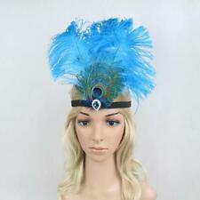 Hippie Tribal Feather Headband Headdress Fancy Costumes Showgirl Headdress