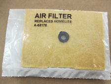 NEW HOMELITE SUPER EZ AIR FILTER A 65178 / DA 65178 B / SUPER EZ AUTO