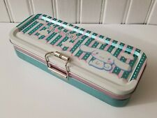 Cinnamoroll Dog Cloud Moon Metal Tin 3 Tier Deck Pencil Case -  2003 - Sanrio