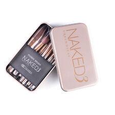 12 pcs Makeup Brushes Set Powder Foundation Eyeshadow Eyeliner Lip Brush New
