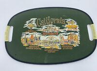 Vintage MCM Souvenir California Disney Theme Parks Airport Masonite Tray Plate