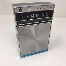 Rare Vintage Motorola 10 Transistor AM Radio Japan 1960's ~ Excellent