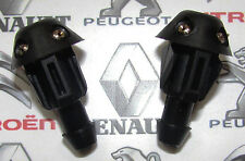 Peugeot 106 205 306 309 Front Windscreen Washer Jet Nozzle 643871 Genuine x2 New