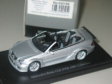 Mercedes W209 DTM STREET CABRIOLET SILVER  1/43 Minichamps KYOSHO