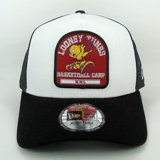 New Era Cap Men's Looney Tunes Porky Pig Basketball 940 Trucker Snapback Hat