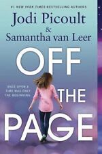 Off the Page by Jodi Picoult and Samantha van Leer Book Paperback Novel PB New