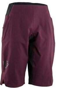 Race Face Women's Traverse Shorts Boudeaux Dark Purple Medium