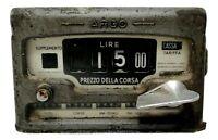 vecchio tassametro taxi anni 60 argo vintage