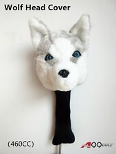 A99 Golf Animal Wood Headcover Wolf  Head Cover
