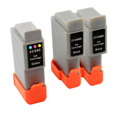 3+ PACK New BCI-24 ink for Canon Multipass C20 C30 C50 C545 MP320 F20 MP320 370