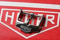 Genuine Heuer buckle 16mm opening steel vintage style for rally strap 23 sold