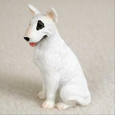 Bull Terrier Dog Tiny One Miniature Small Hand Painted Figurine