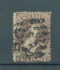 New Zealand 1867 6d Chalon perf 12 1/2 sg.122a used