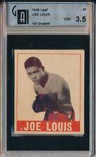 1948 LEAF #48 JOE LOUIS - GAI 3.5 VG+ (SVSC)