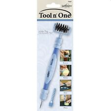 SPELLBINDERS CRAFT TOOL 'N ONE BRUSH PIERCE RELEASE DIE REMOVAL FROM PAPER STORE