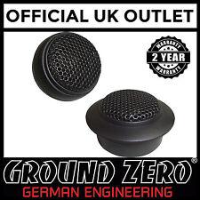 """Ground Zero Iridium GZHT 19X 0.75"""" 19mm 140 Watts Car Tweeters Speakers"""