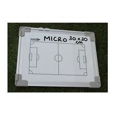 NEW Diamond Micro Tactic Board - Cheap Managers Coaches Tactics Wipeable 30x20cm