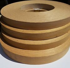 Oak edge banding tape veneer 38mm x 5m roll iron on / glued BUY 2 GET 1 FREE