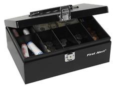 Large Fireproof Security Box Safe Chest Key Lock Money Document Cash Jewelry