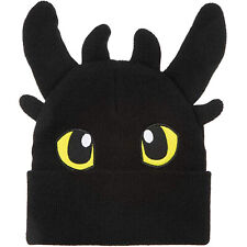 How To Train Your Dragon Toothless Character Beanie NEW IN STOCK Winter Apparel